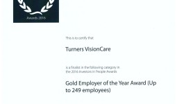 Gold Employer of the Year Award Finalist